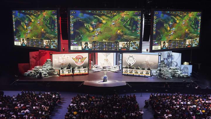 G2 Esports vs SK Telecom T1 Semi Final - League of Legends World Championship
