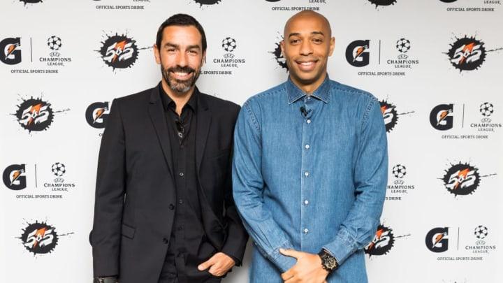 Pirès und Henry spielten zusammen für Arsenal und Frankreich