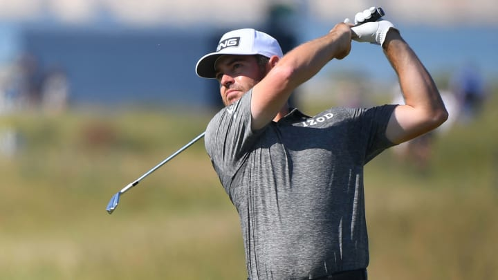Louis Oosthuizen at the British Open.
