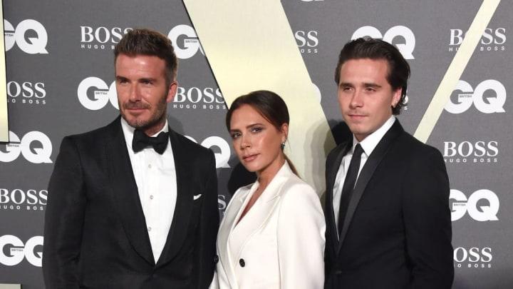 David Beckham, Victoria Beckham, Brooklyn Beckham