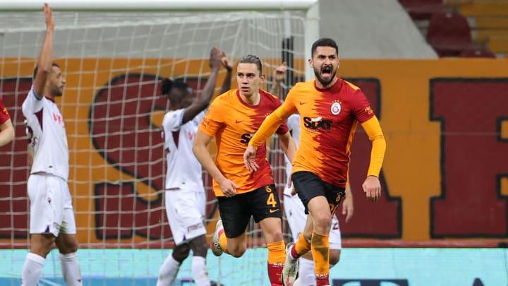 Galatasaray'ın gol sevinci