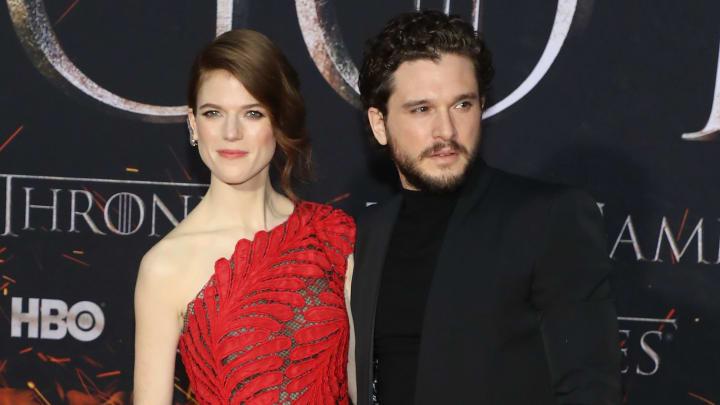 "Rose Leslie and Kit Harrington, ""Game Of Thrones"" Season 8 Premiere"