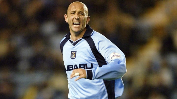 Gary McAllister of Coventry City