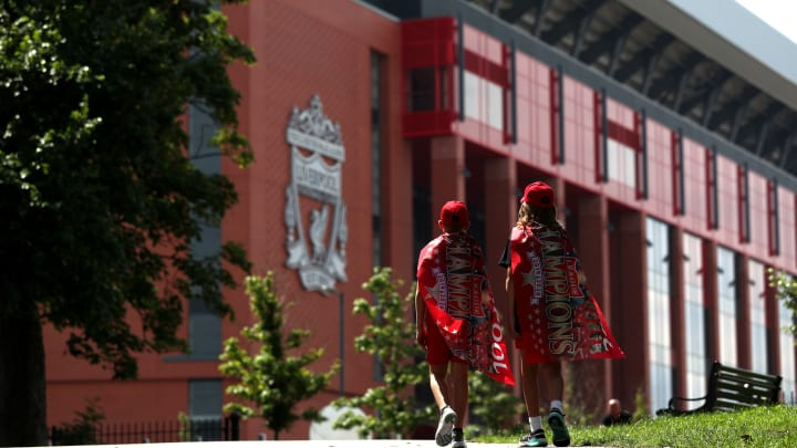 General Views Around Liverpool after Liverpool Confirmed as Premier League Champions