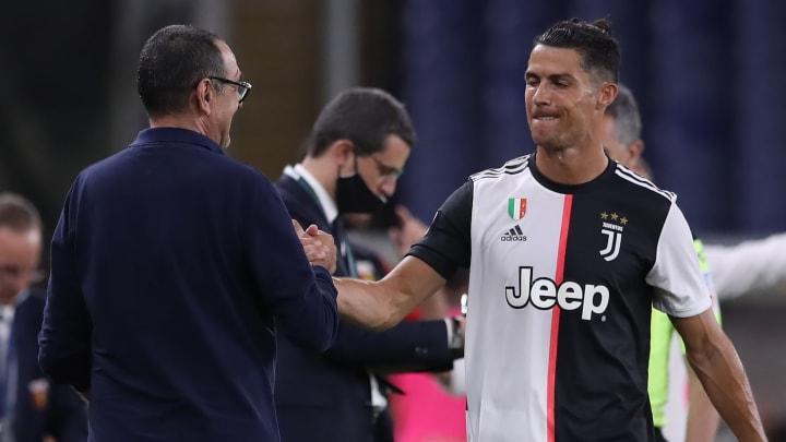 Maurizio Sarri, Cristiano Ronaldo