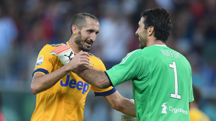 Chiellini und Buffon kennen kein Ende