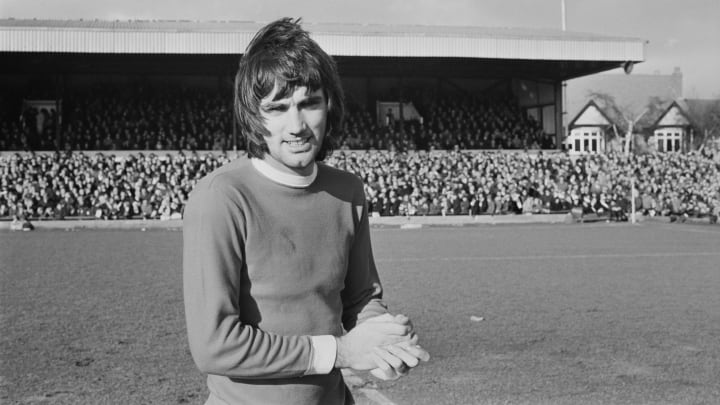 George Best is one of English football's greatest ever players