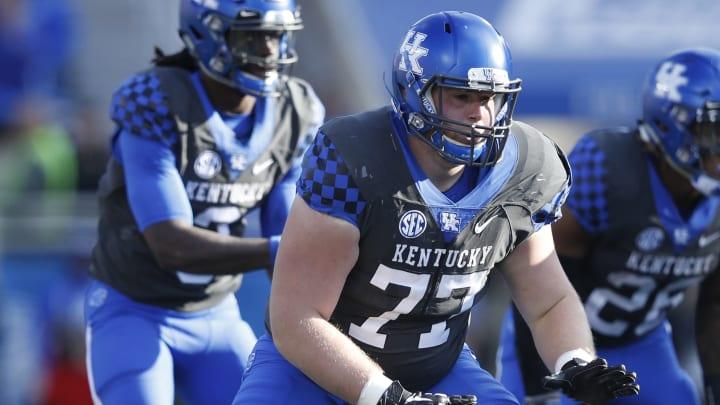 Kentucky OT Mason Wolfe