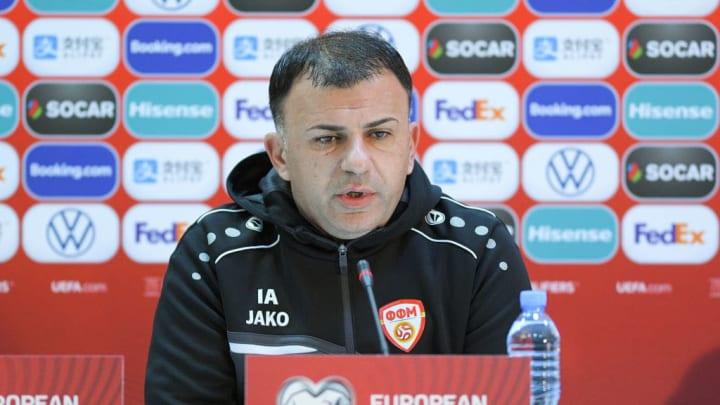 Georgia v North Macedonia Training and Press Conferences: UEFA EURO 2020 Play-Off Finals