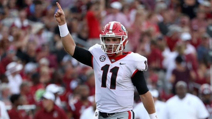 Junior quarterback Jake Fromm has decided to enter the NFL Draft.