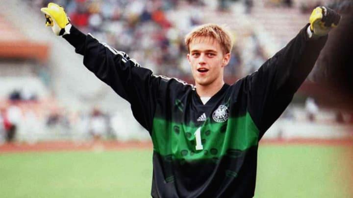 German goalkeeper Timo Hildebrand celebr
