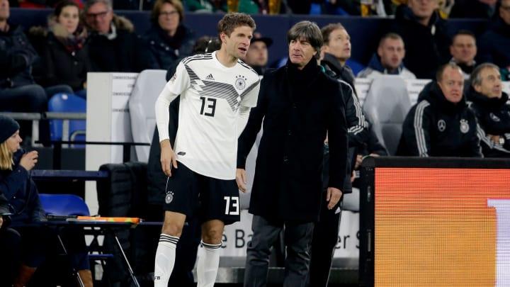 Joachim Löw hat laut Angaben der Bild Kontakt zu Thomas Müller aufgenommen.