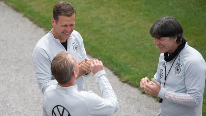 Oliver Bierhoff, Joachim Loew, Andreas Koepke