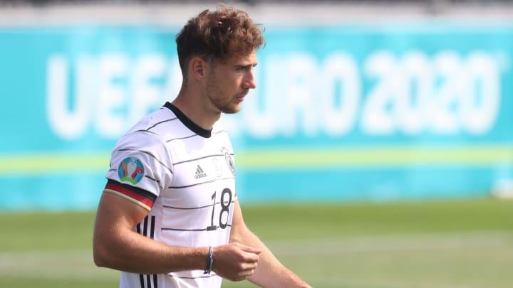 Leon Goretzka könnte gegen Portugal sogar in der Startelf stehen.