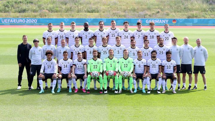 Presentación del equipo alemán para la Eurocopa