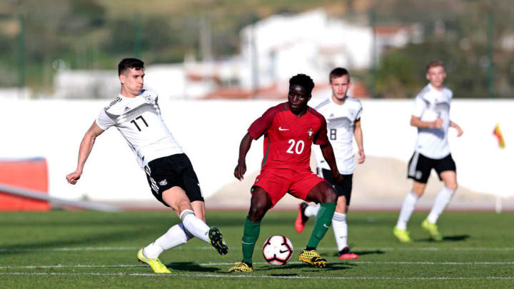 Germany U17 v Portugal U17 - Algarve U17 International Tournament