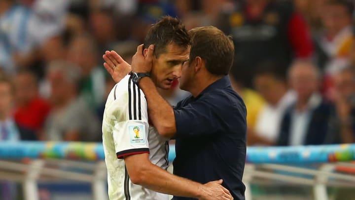 Miroslav Klose, Hansi Flick