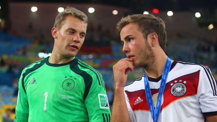 Manuel Neuer, Mario Goetze