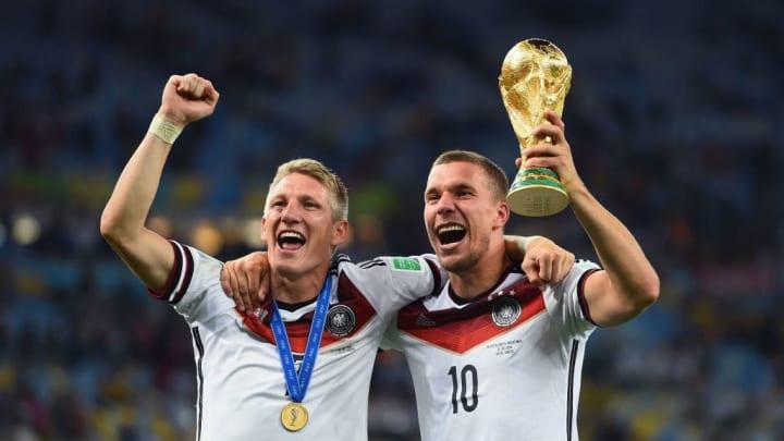 Bastian Schweinsteiger, Lukas Podolski
