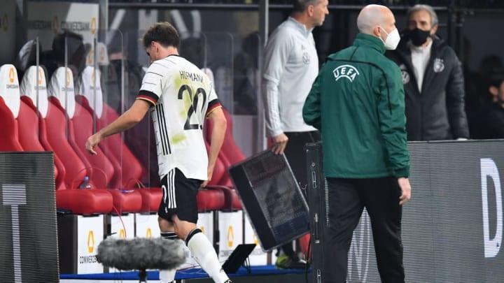 Hofmann verletzte sich ebenfalls bei der Nationalmannschaft