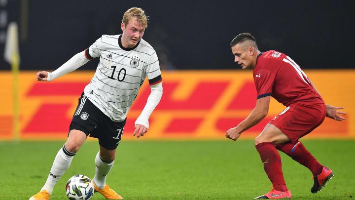 """Bundestrainer Jogi Löw sieht in Brandt ein """"sehr großes"""" Potenzial"""