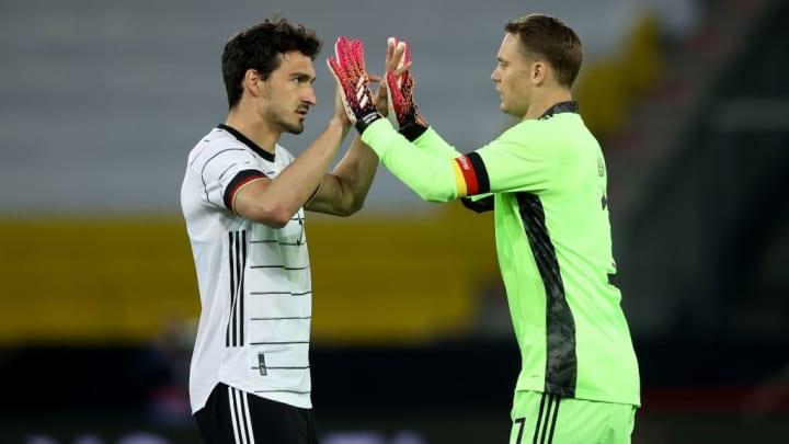 Manuel Neuer Mats Hummels Alemanha Eurocopa
