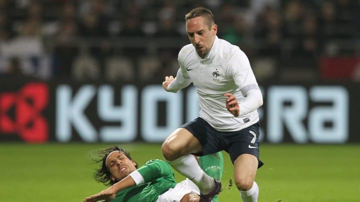 Sami Khedira, Franck Ribery