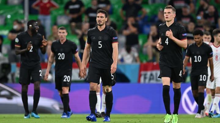 Alemanha só fez um bom jogo na Eurocopa