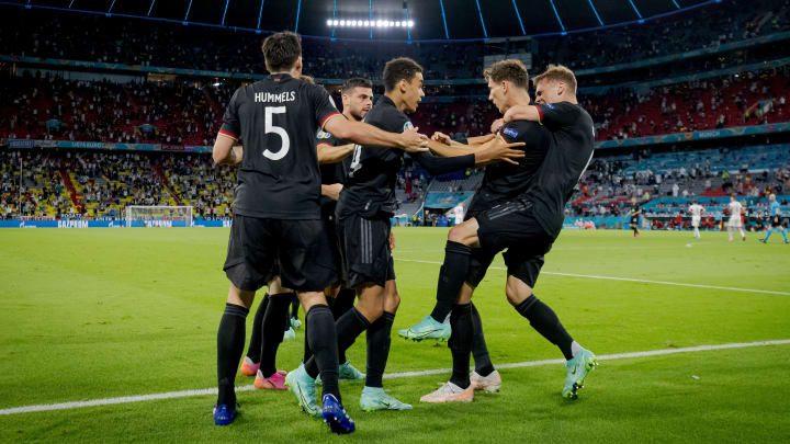 Germany face England on Tuesday