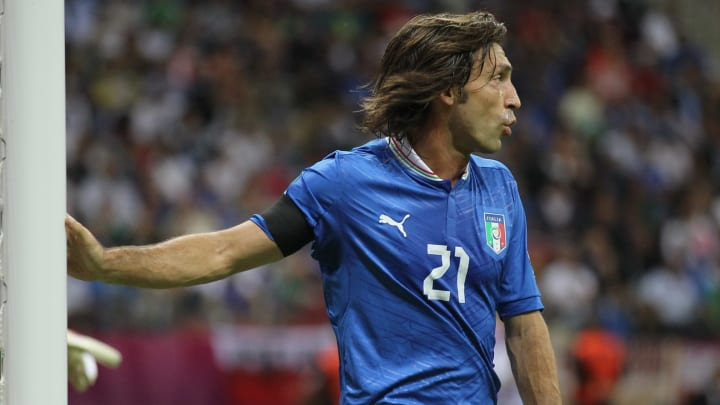 Andrea Pirlo and Italy are synonymous with PUMA on the international stage
