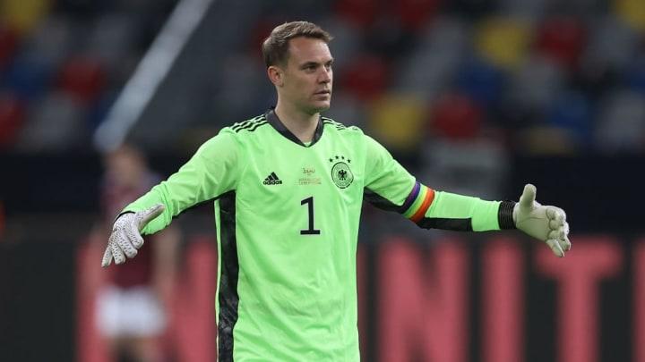Manuel Neuer Bayern de Munique Alemanha Eurocopa