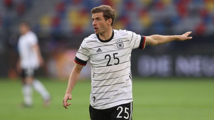 Thomas Muller Bayern de Munique Hummels Eurocopa Alemanha Joachim Low