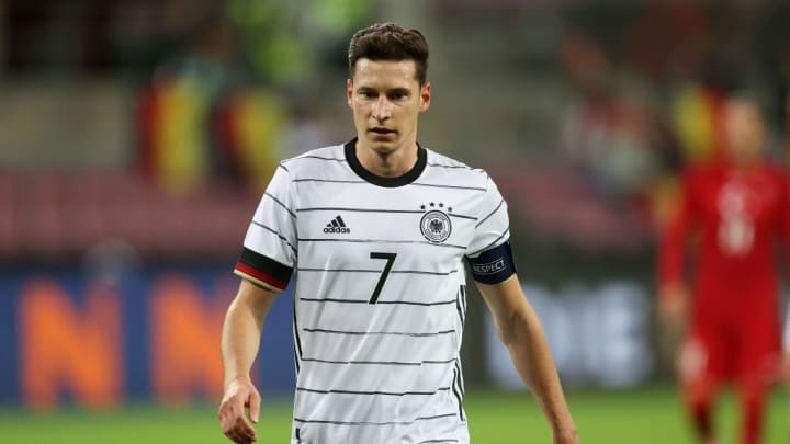 Draxler in action for Germany