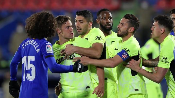 Tempers flared in La Liga