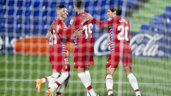Zur Zeit kommen die Spieler des FC Granada aus dem Jubeln gar nicht mehr raus