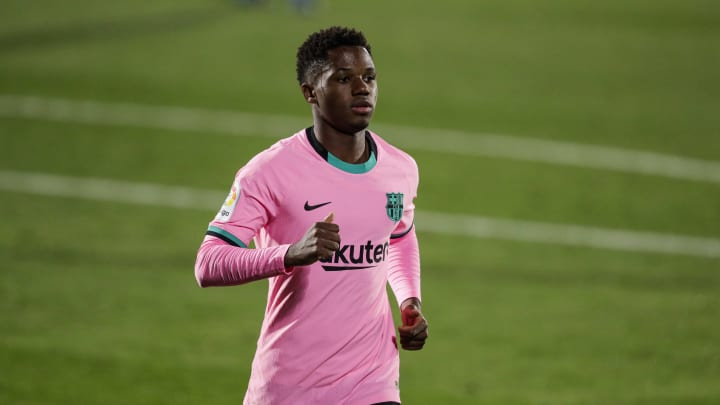 Ansu Fati was the subject of a racist analogy in a match report following Barcelona's Champions League win