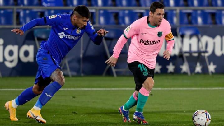 Lionel Messi Getafe Barcelona