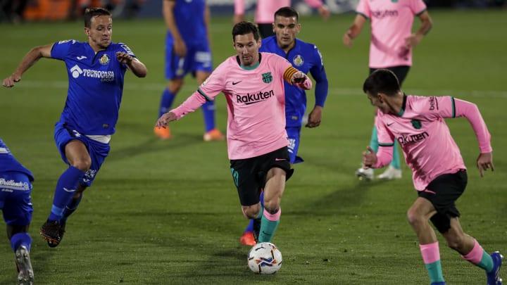 Barcelona e Getafe se enfrentam pela 31ª rodada do Campeonato Espanhol 2020/21.