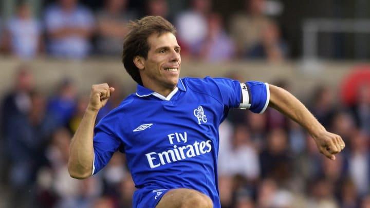Gianfranco Zola of Chelsea