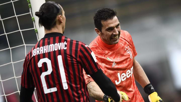 Buffon und Ibrahimovic haben nie die Champions League gewonnen