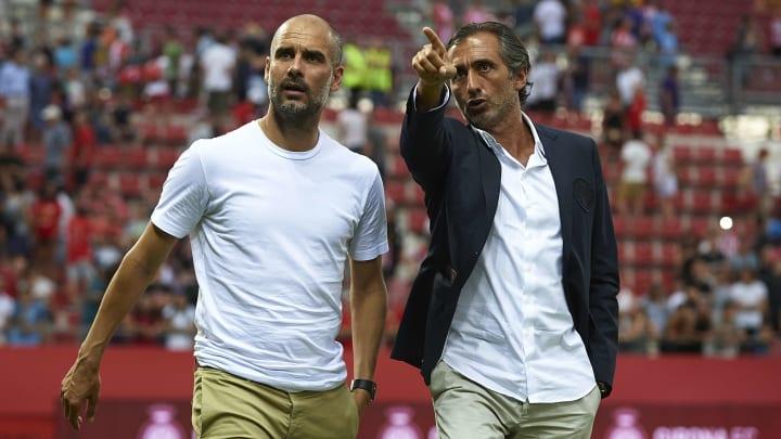 Manuel Estiarte và Pep Guardiola khá thân với nhau