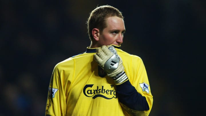 Kirkland was in goal for Liverpool