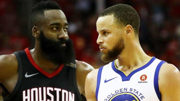 Stephen Curry, James Harden, Houston Rockets