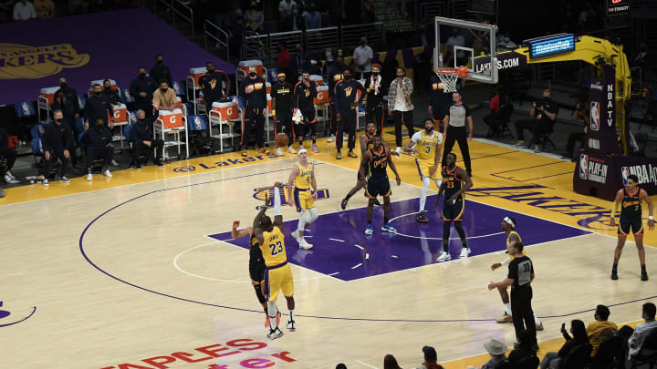 LeBron James for three.