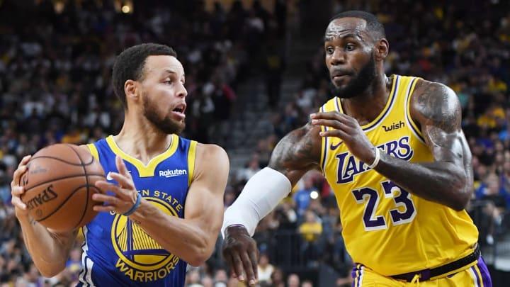 Warriors jugarán este lunes ante Lakers