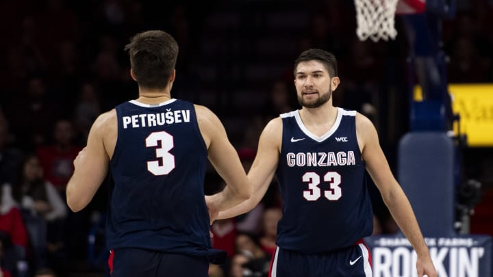 The Gonzaga Bulldogs are the new No. 1 team in college basketball thanks to a 13-1 start.