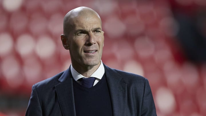 Zidane looks likely to leave Real Madrid at the end of the season