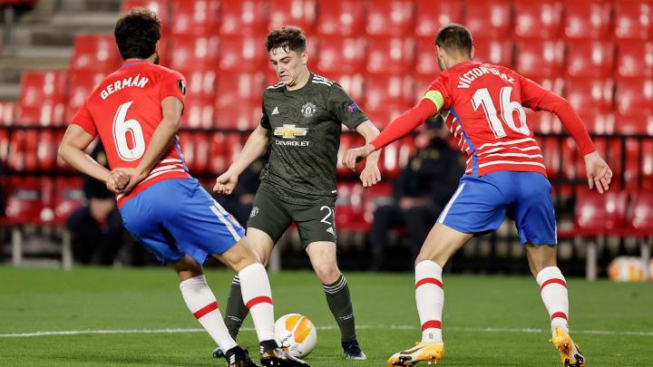 Gegen Man United musste sich Granada geschlagen geben