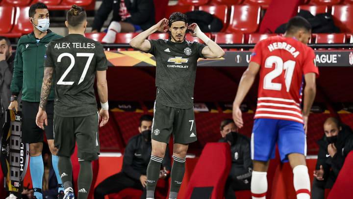 Manchester United geht mit einem 2:0-Vorsprung ins Rückspiel gegen Granada