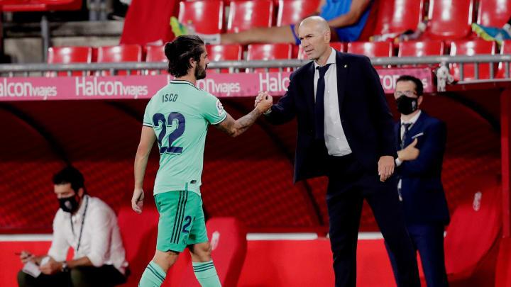 Isco, Zinedine Zidane